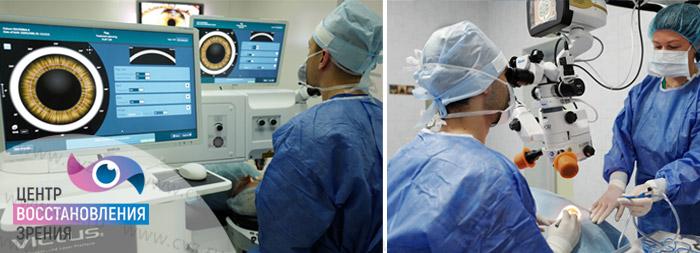 Катаракта лечение операция